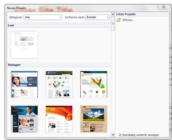 Erstellung von WordPress-Themes mit Artisteer